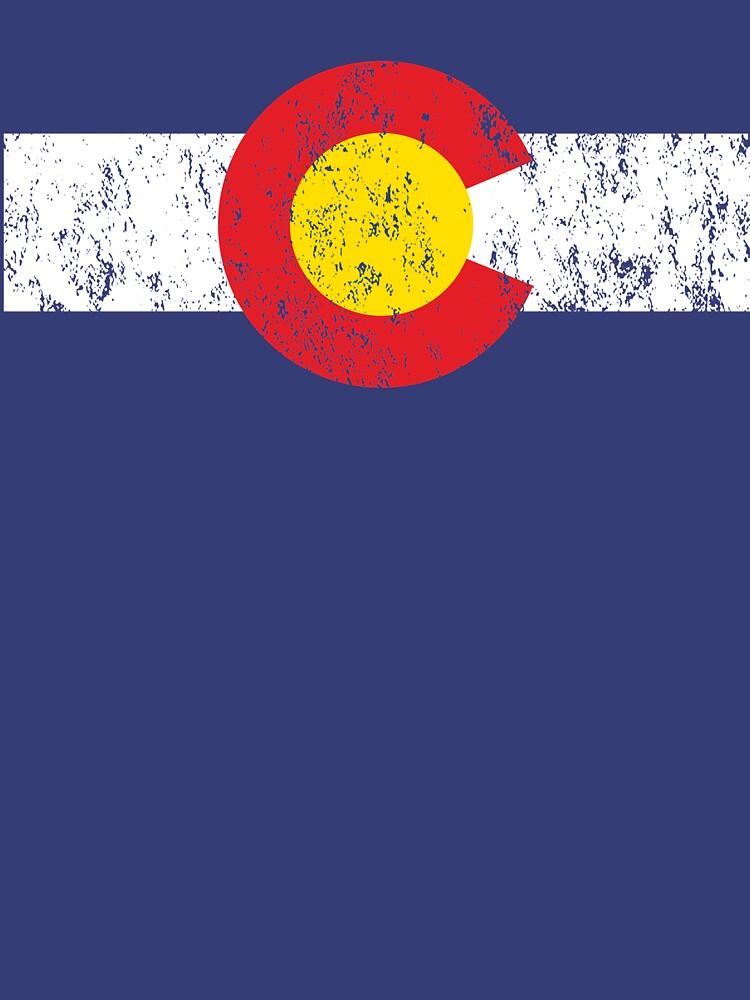 Vintage Colorado Flag | Unisex T-Shirt