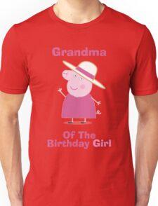Grandma (HBD) girl Unisex T-Shirt