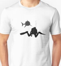 Farting Diver  T-Shirt