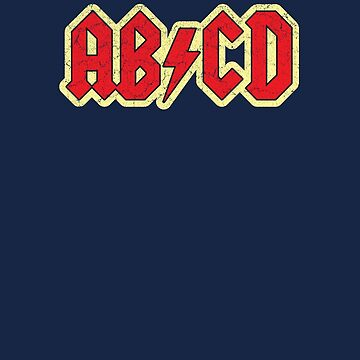 Vintage ABCD Rock & Roll by medallion