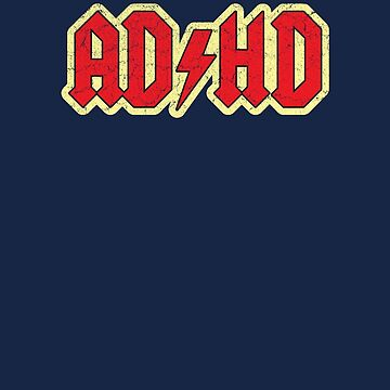 Vintage ADHD Rock & Roll Style by medallion
