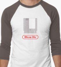 Blow Me - Vintage Nintendo Cartridge Men's Baseball ¾ T-Shirt