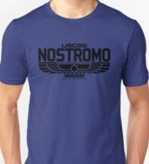 NOSTROMO ALIEN MOVIE STARSHIP (BLACK) Unisex T-Shirt