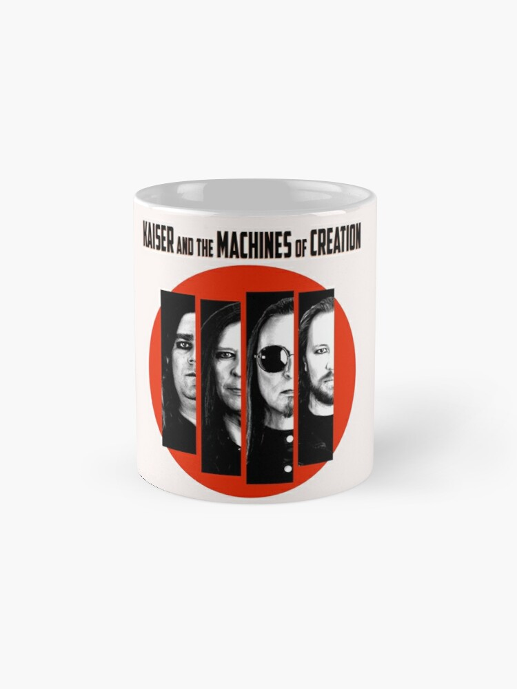 Alternate view of KAISER AND THE MACHINES OF CREATION Mug
