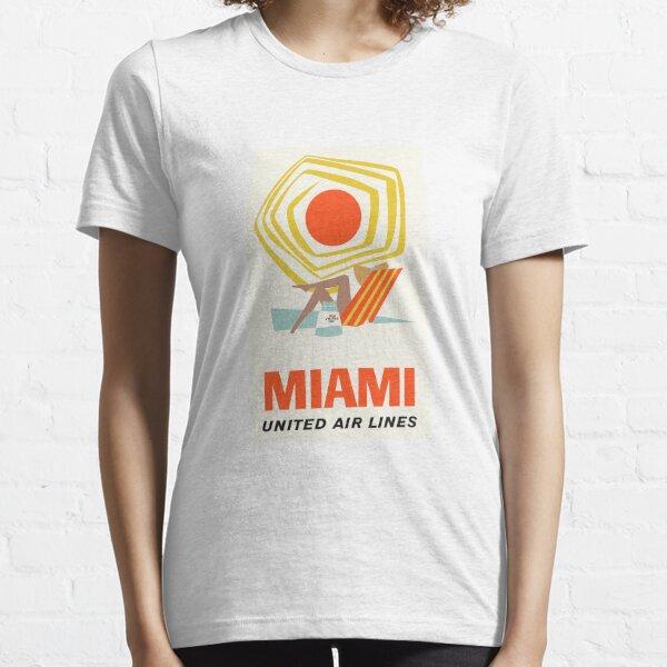 Miami United Airlines Essential T-Shirt
