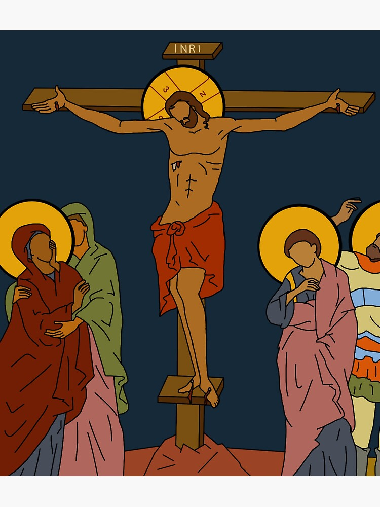 The Crucifixion by evelea316