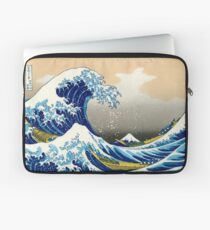 Katsushika Hokusai - The Great Wave of Kanagawa Laptop Sleeve