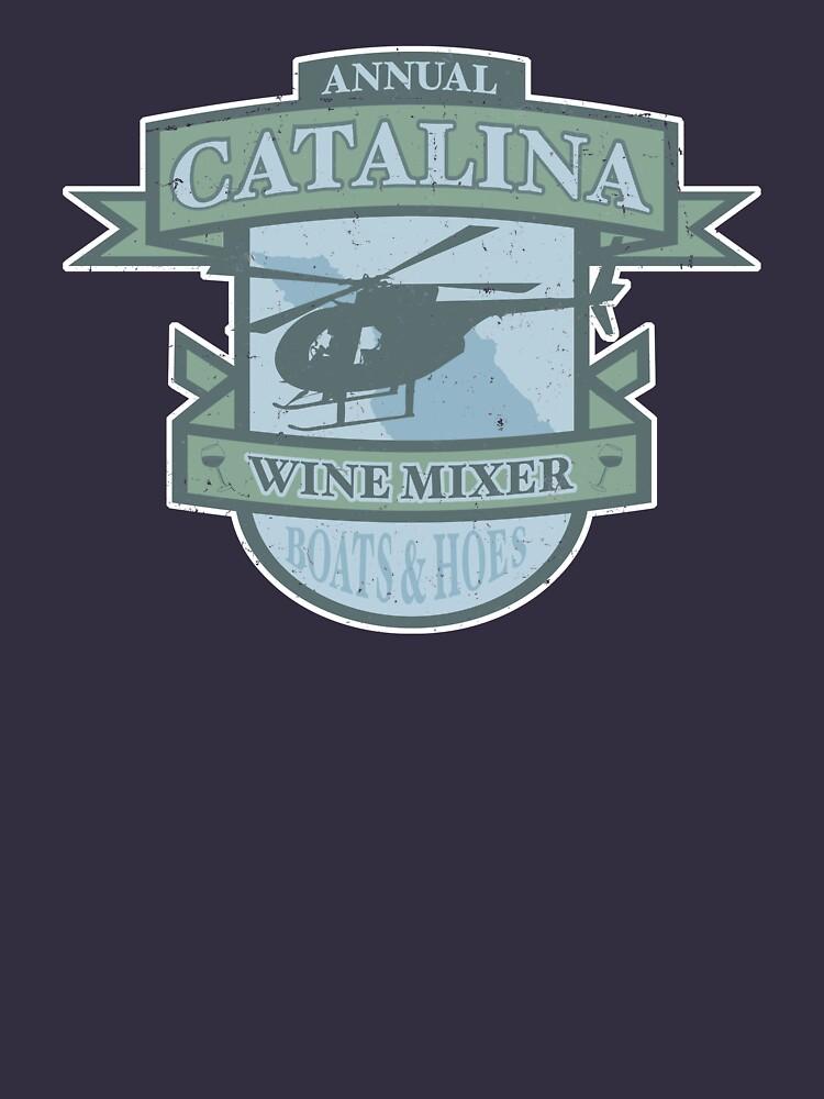 Vintage Catalina WIne Mixer - POW! | Unisex T-Shirt