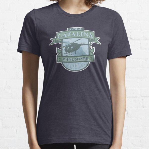 Vintage Catalina WIne Mixer - POW! Essential T-Shirt