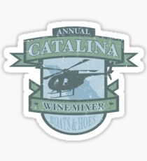 Vintage Catalina WIne Mixer - POW! Sticker