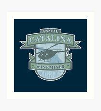 Vintage Catalina WIne Mixer - POW! Art Print
