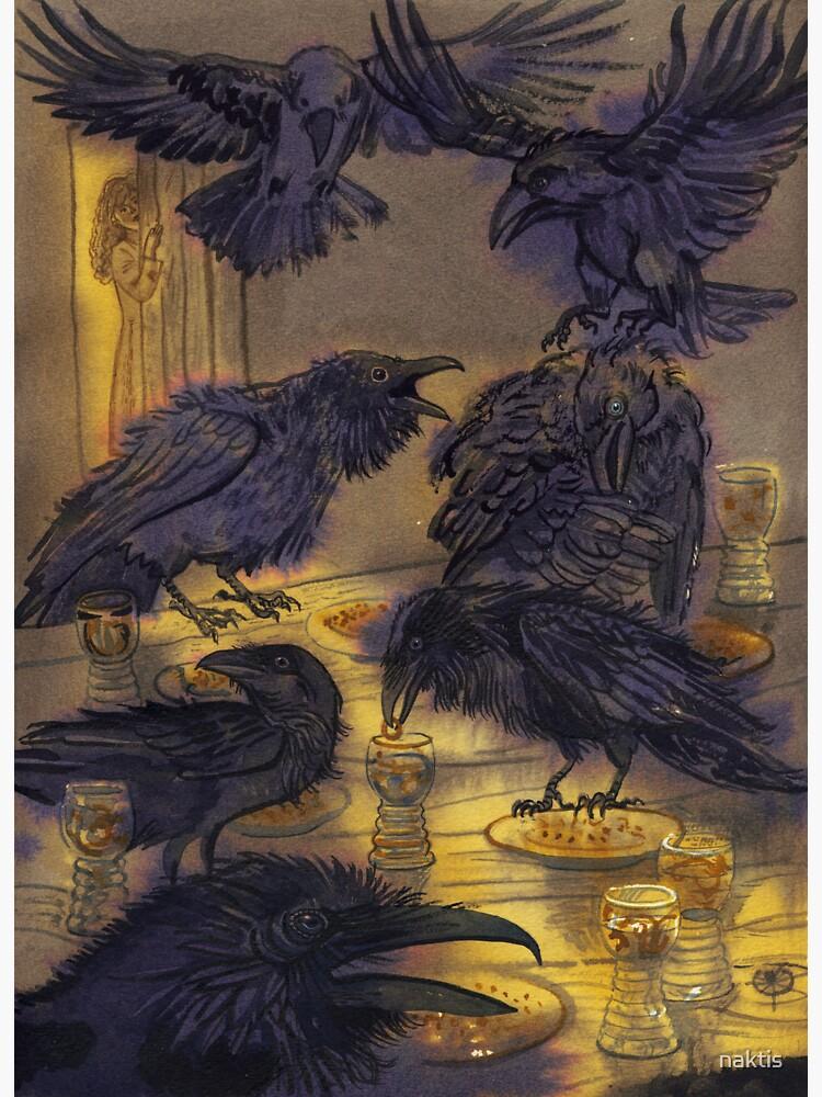 Seven ravens. by naktis