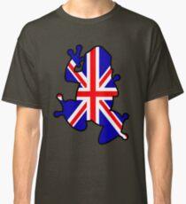 British Union Jack Frog Classic T-Shirt