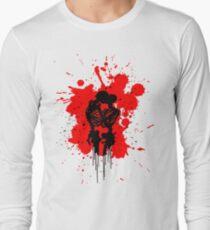 Skeleton Romance Splatter T-Shirt