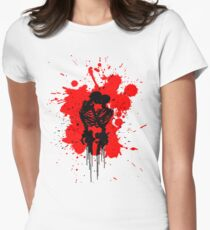 Skeleton Romance Splatter T-Shirt