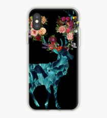 Spring Itself Floral Dark iPhone Case
