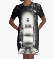 mr. blind Graphic T-Shirt Dress