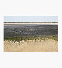Lake Cooper, Goulburn Valley, Victoria, in drought Photographic Print