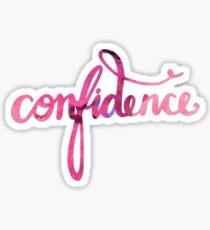 Confidence Sticker Sticker