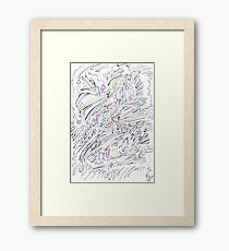0601 - Desillusionary Illusions in Reality Framed Print