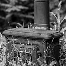 Old Stove by Mark David Barrington