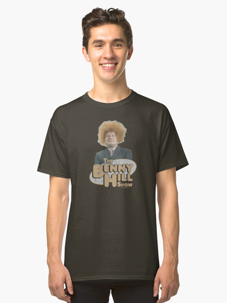 Fred Scuttle Good Evening Viewers Benny Hill T Shirt Male