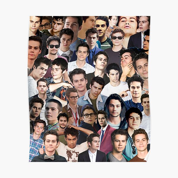 dylan o'brien collage Poster