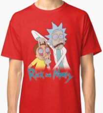 Rick And Morty | Eyes Wide Psychedelic Classic T-Shirt