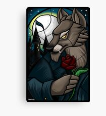 Stained Glass - Gilneas Canvas Print
