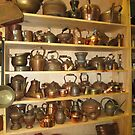 Copper Pots and Teapots by KellyHeaton