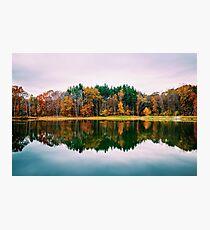 Colorful Lake Photographic Print