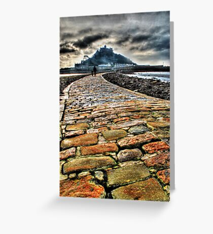 St. Michaels Mount and Causeway Greeting Card