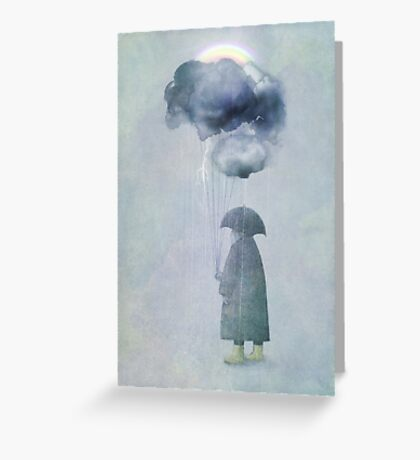 The Cloud Seller Greeting Card