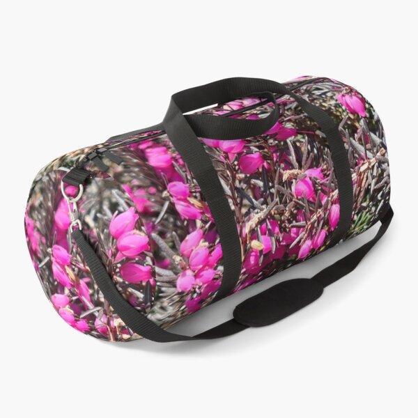 Macro pink! Duffle Bag