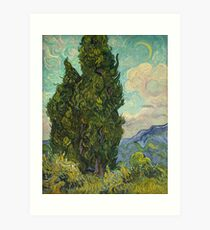 Trees by Vincent Van Gogh Art Print
