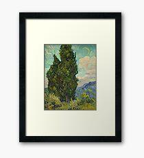Trees by Vincent Van Gogh Framed Print