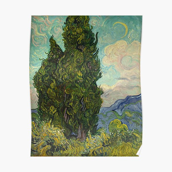 Trees by Vincent Van Gogh Poster