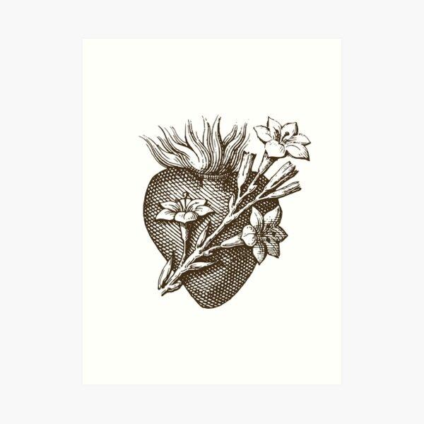 Pure Heart of Saint Joseph Art Print