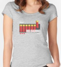 RELOADING! Women's Fitted Scoop T-Shirt