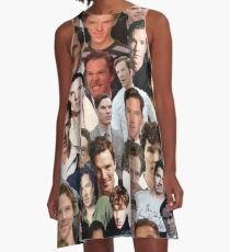 benedict cumberbatch collage A-Line Dress