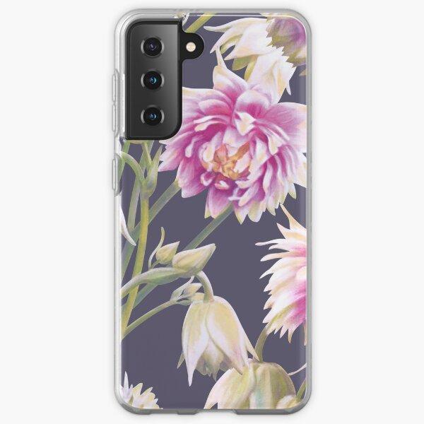 Nora Barlow Aquilegia Flowers Samsung Galaxy Soft Case