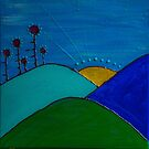 Redreaming Sunset on Gaia by WENDY BANDURSKI-MILLER