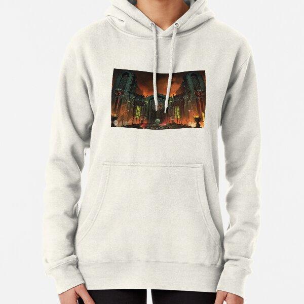 Patch Doom Eternal Slayer Doomguy Zip Up Hoodie Figure Jacket Sweater Fleece