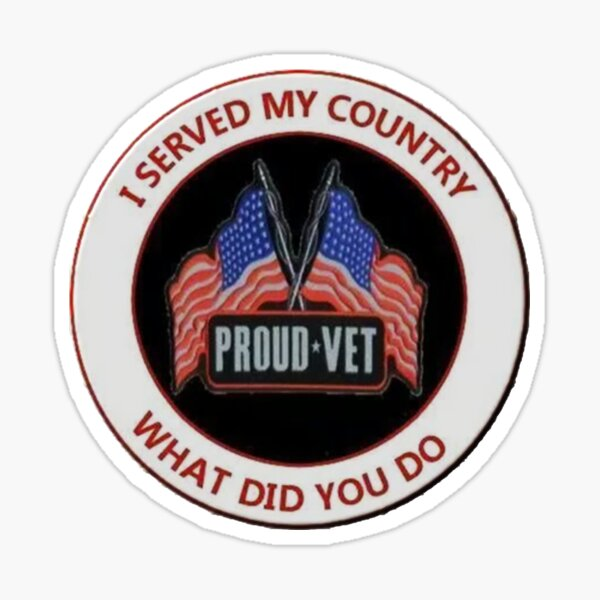 Proud Vet Sticker