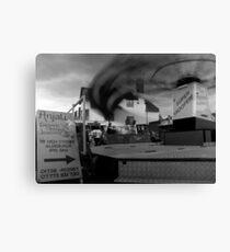 Fairground attractions. Canvas Print