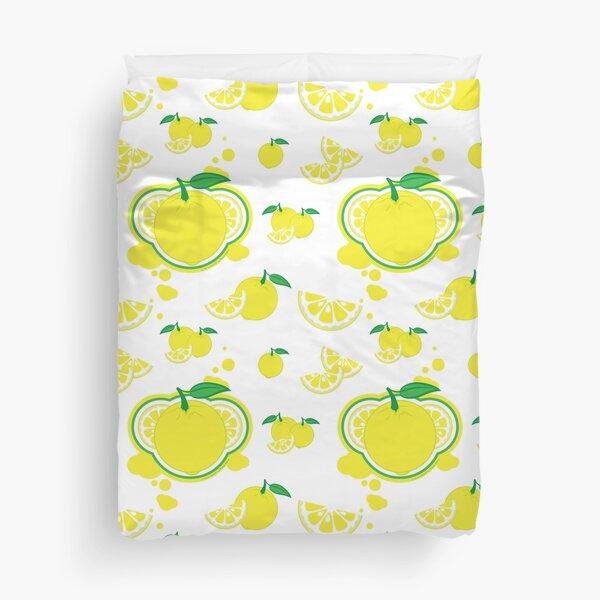 FruitHeads - lemon Duvet Cover