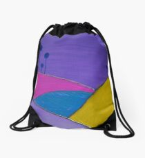 Redreaming Valley Giants Drawstring Bag