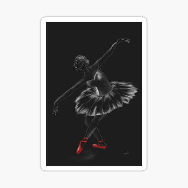 Dancing in the Darkness of our Dreams Sticker