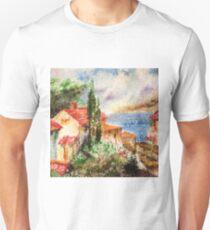 Italian landscape. Unisex T-Shirt