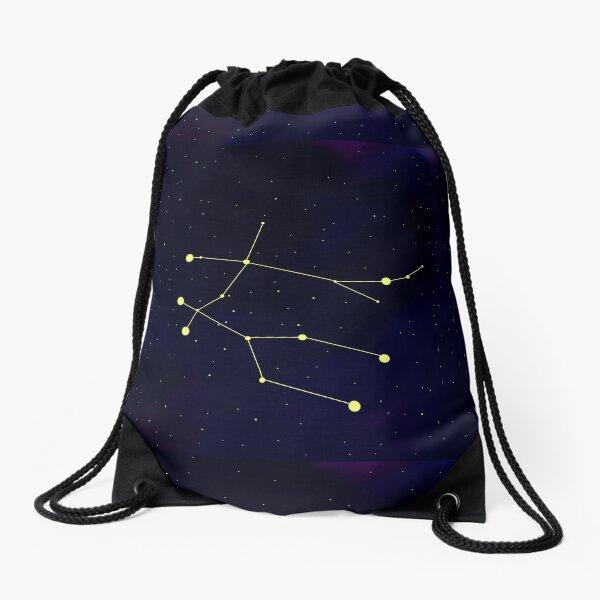 Gemini constellation  Drawstring Bag